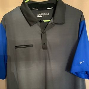 Men's Nike Golf Shirt Size Large Nice
